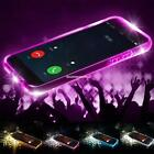 New 1PC LED Flashing Shockproof TPU Phone Case Cover For Apple iPhone EN24H