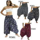 Pants PCN Thailand 2in1 Jumpsuit Cotton Harem Aladdin Baggy Genie Comfy Women