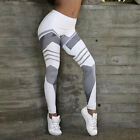US Women Yoga Workout Pants Skinny Gym Running Fitness Leggings Athletic Clothes