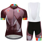 2017 New Mens Sports Bike Wear Cycling Jersey Bib Shorts Suits Bicycle Clothing