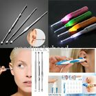 4 Type Ear Wax Cleaner Removal Swab Earwax Remover Spiral Soft Safe Earpick Tool