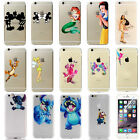 For Apple iPhone 6 7 8 Plus Stitch Princess Mermaid Hard PC Phone Cover Case