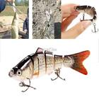New 1PC Hard Metal Propper Fishing Lures Hooks Spinner Fish Baits Bass S0BZ