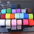10-30yds Handicrafts Embroidered Net Lace Trim Ribbon Bow Wedding Sewing Crafts