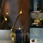 Christmas LED Silver Birch Twig Tree Warm White Light Waterproof White Branches