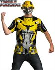 Transformers Bumblebee T-Shirt & Mask Costume - Time Remaining: 3 days 21 hours 4 minutes 1 second