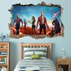 Guardians Of The Galaxy 2 Groot 3D Smashed Wall Sticker Decal Art Mural J686