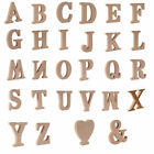 Wooden Craft Alphabet Letters & Heart Shapes Laser Cut MDF 1.5cm thickness Wood