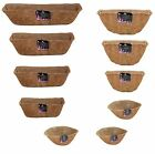 Tom Chambers Natural Hanging Basket Wall Trough & Wall Basket Manger Coco Liners