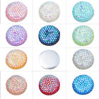 20PCs Babysbreath Round Resin Cabochon Embellishment Findings 16mm