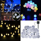 Solar Powered String Lights 30 LED Outdoor Crystal Balls New Year Decorative