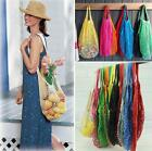 Reusable Pro String Grocery Shopping Cotton Mesh Net Woven Mesh Shopper Bag