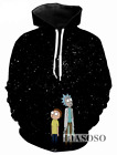 New Fashion Women/Men Rick and Morty Funny 3D Print Casual Sweatshirt Hoodies 09