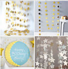 Paper Garlands Hanging Stars Decoration Wedding Party Birthday Baby Shower Table