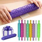 Cake Sugarcraft Embossed Decorating Rolling Pin Fondant Mold Gum Paste Tools