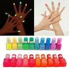 17 colors Glow In The Dark Fluorescent Neon Luminous Nail Polish Varnish Pigment