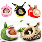 Cute Small Animal Pet Hammock Hamster Rat Guinea Pig House Nest Pad Soft Bed