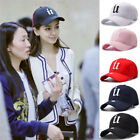 Women Men New Black Baseball Cap Snapback Hat Hip-Hop Adjustable Bboy Caps NEW!