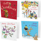 Pack of 10 Quentin Blake The Gruffalo Christmas Cards - Three Wise Parrots Santa