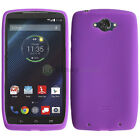 CLOSEOUT LOT Soft Slim Rubber Gel Case for Android Phone Motorola Droid Turbo