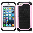 NEW HOT! Lot Hybrid Rugged Rubber Hard Case Skin for Apple iPhone 5 5C 700+SOLD