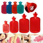 4 Size Durable High Density Rubber Hot Water Bottle Bag Relaxing Heat Therapy