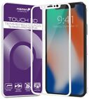 Fosmon HD Clear 3D [Full Screen] Protector Tempered Glass for Apple iPhone XS X