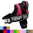 Service Dog Vest Harness Large IN TRAINING THERAPY POLICE K9 THERAPY DOG Vests