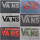 New Vans Womens Classic Logo Full Zip Up Hoodie Jacket Multiple Colors Size S-XL