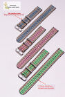 wholesale peacock 3color 2 Section nylon watch band watch strap watch DW-2