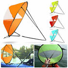 42' Portable PVC Downwind Wind Paddle Instant Popup Board Sail Kayak Accessories