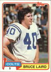 1981 Topps Football #326 - #528 - Choose Your Cards