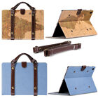 Portable Handbag Canvas Synthetic Leather Stand Skin Smart C