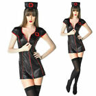Ladies Adult Sexy Hen Party Uniform Naughty Nurse  Fancy Dress Costume