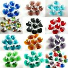 Charm Glass Heart-Shaped Beads Spacer DIY Jewelry Findings Free Shipping 14mm