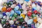 New 20/50Pcs Mixed Millefiori Glass Craft Beads Multi-Color Loose Spacer Bead