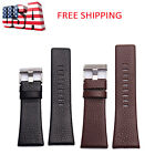 Genuine Leather Replacement Watch Strap Wrist Band For Diesels Watch 22mm-30mm image
