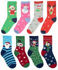 RJM Kids Cotton Rich Christmas Socks