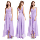 Ever-Pretty Long Bridesmaid Dress V Evening Party Gown Lavender Dresses 09983