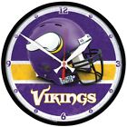 "Wincraft NFL 12.75"" Round Wall Clock - Pick Your Team - FREE SHIPPING"