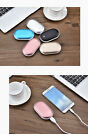 5000mAh Hand Warmer Electric Pocket Heater Rechargeable USB Phone Power Bank