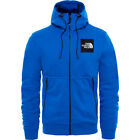North Face Fine Mens Hoody Zip - Bright Cobalt Blue All Sizes