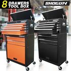 Shogun 8 Drawers Mechanic Tool Box Cabinet Toolbox Trolley Roller