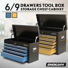 Shogun 6/9 Drawers Mechanic Tool Box Cabinet Toolbox Trolley Roller