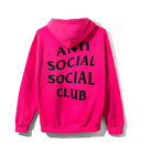 Anti Social Social Club Calm Hoodie Pink ASSC 100% Authentic