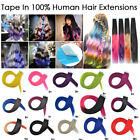 CW Hair 20inch Ombre Colors Remy Tape in Human Hair Extensions Skin Weft