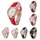 Women Rose Gold Stainless Steel Dial Crystal Quartz Date Anlog Waterproof Watch