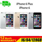 Apple iPhone 6 Plus 64GB ( Factory Unlocked) Smartphone Gray Silver Gold AU A++