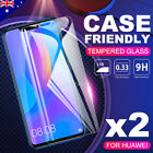 2x Huawei Mate 9 10 Pro P10 Plus G8 9H Tempered Glass Screen Protector Film