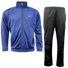 Champion Mens Track Jacket and Bottoms Full Tracksuit Navy Grey 206570 3458 OD10